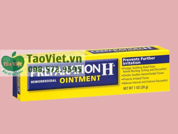 Thuốc Prepation H Ointment
