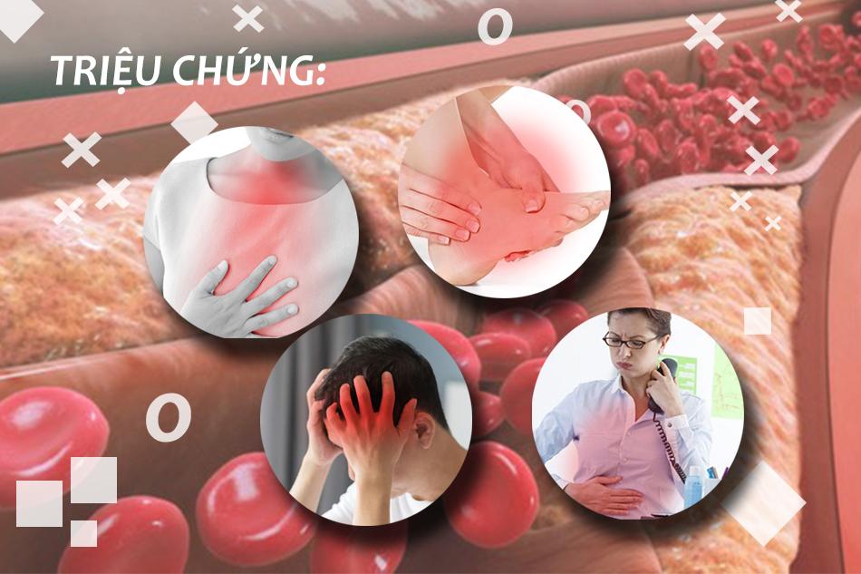 Triệu chứng của bệnh máu nhiễm mỡ