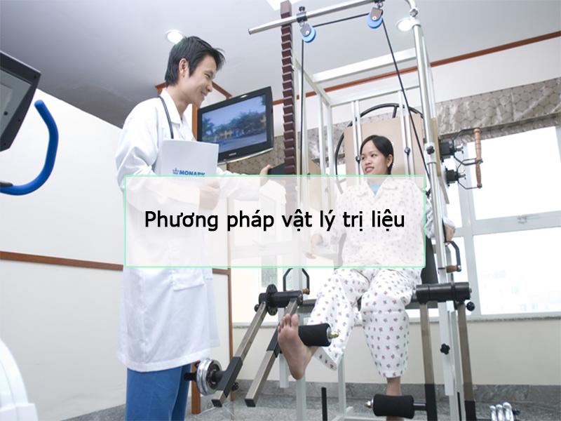 Điều trị bằng phương pháp vật lý trị liệu