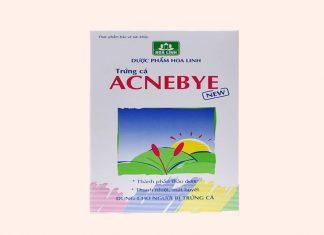 Tạm biệt mụn với Acnebye