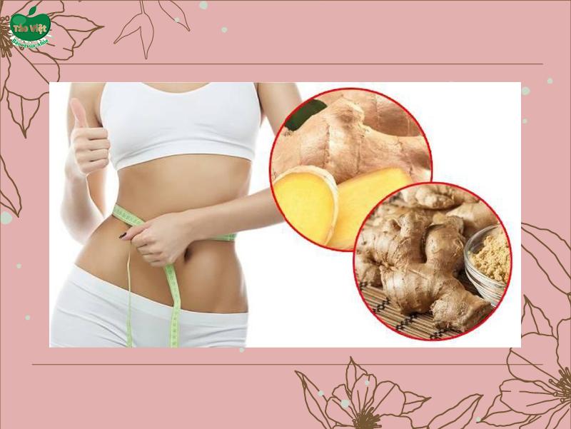 Cao Gừng giúp giảm mỡ bụng hiệu quả