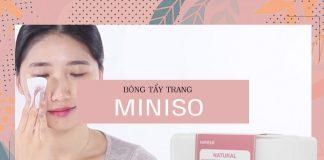 Bông tẩy trang Miniso