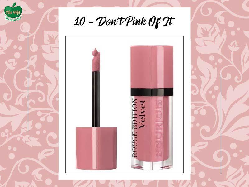Màu số 10 (hồng pastel nude)