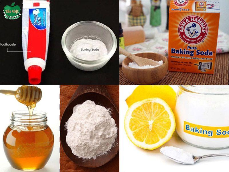 trị thâm bằng Baking soda kết hợp