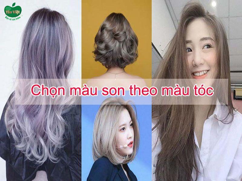 Chọn màu son theo màu tóc