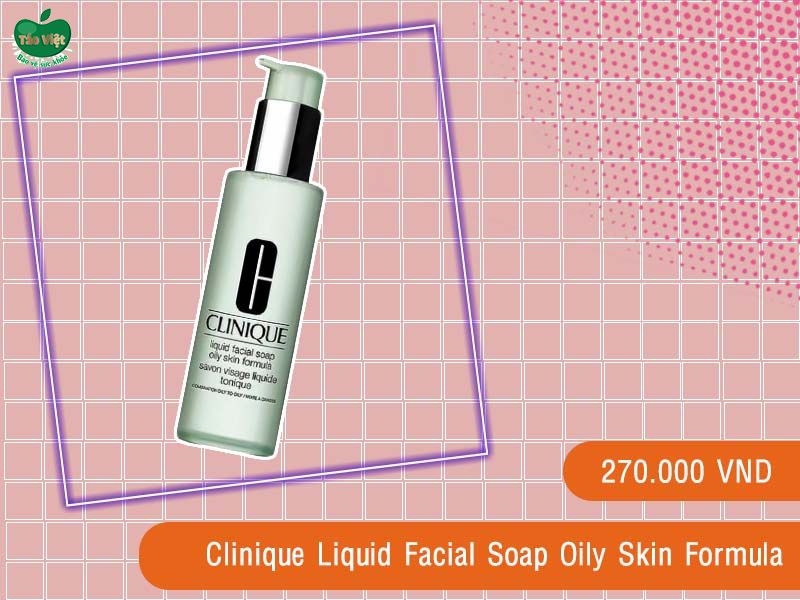 Sữa rửa mặt Clinique Liquid Facial Soap Oily Skin Formula