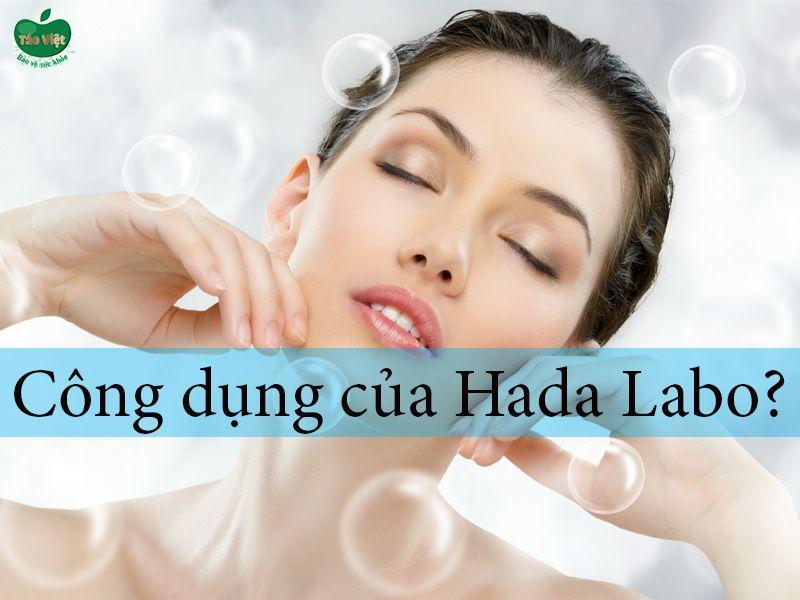 Công dụng của sữa rửa mặt Hada Labo
