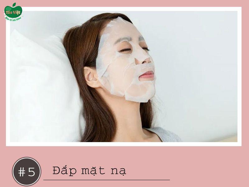 Đắp mặt nạ giúp bổ sung dưỡng chất cho da