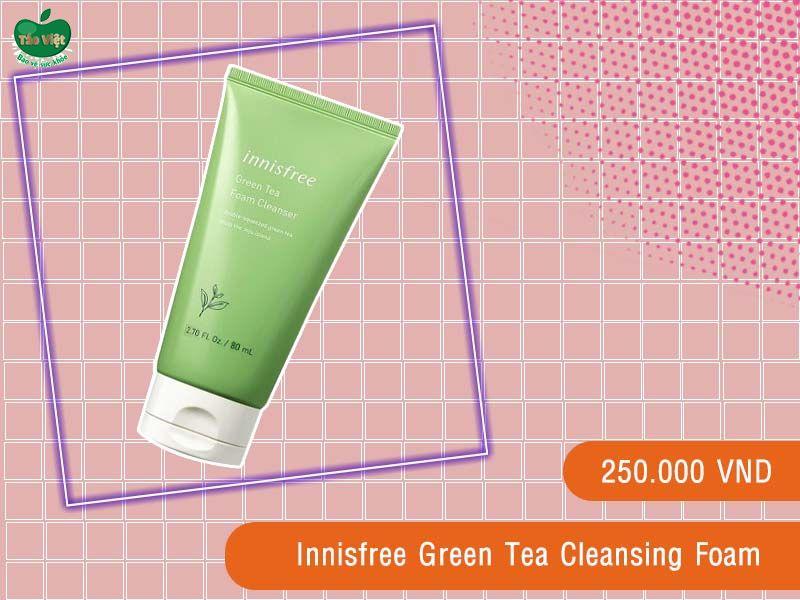 Sữa rửa mặt trà xanh Innisfree Green Tea Cleansing Foam