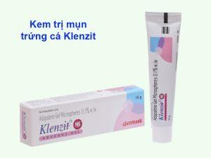 Kem trị mụn trứng cá Klenzit MS