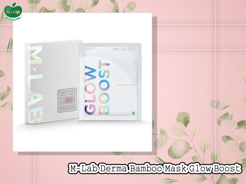 Mặt Nạ M-Lab Derma Bamboo Mask Glow Boost (Màu trắng)