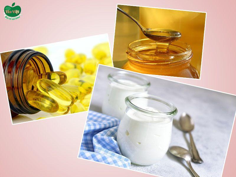 Mặt nạ sữa chua mật ong và vitamin E