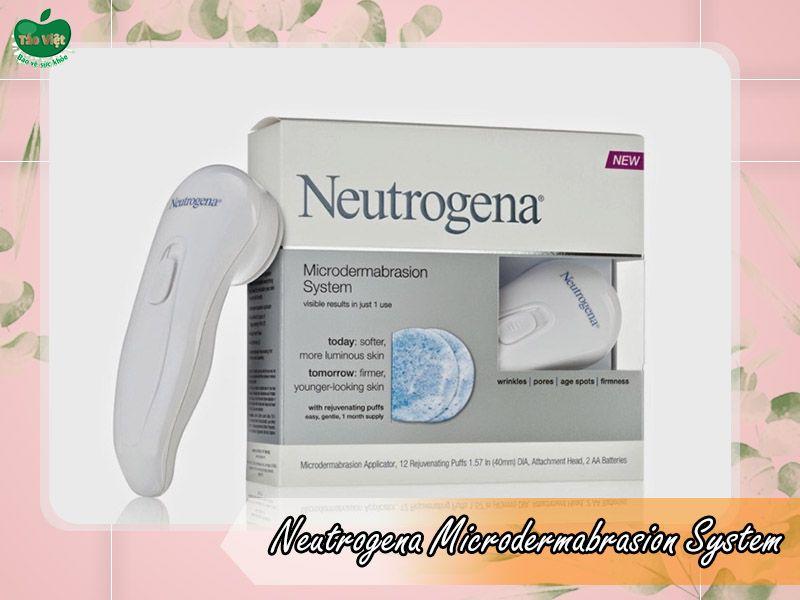 Máy rửa mặt Neutrogena Microdermabrasion System
