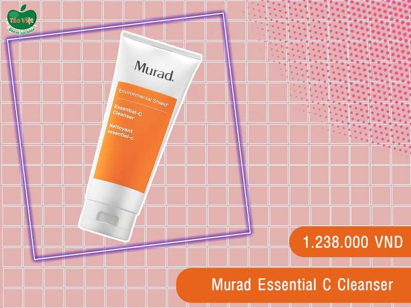 Sữa rửa mặt cho da mụn Murad Essential C Cleanser