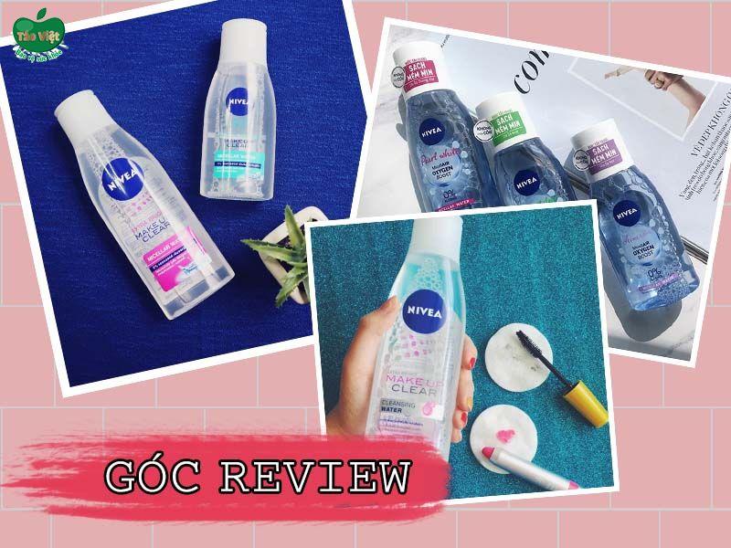 Review khách hàng về nước tẩy trang Nivea