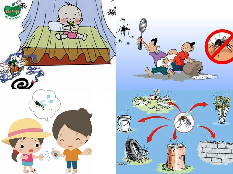 ngăn ngừa muỗi đốt