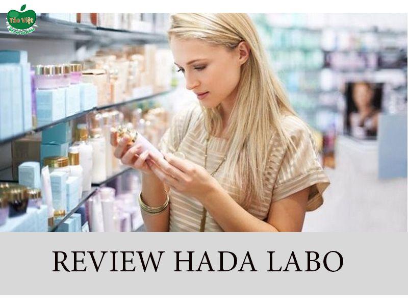 Review của người dùng sữa rửa mặt Hada Labo
