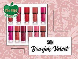 Son Bourjois Velvet