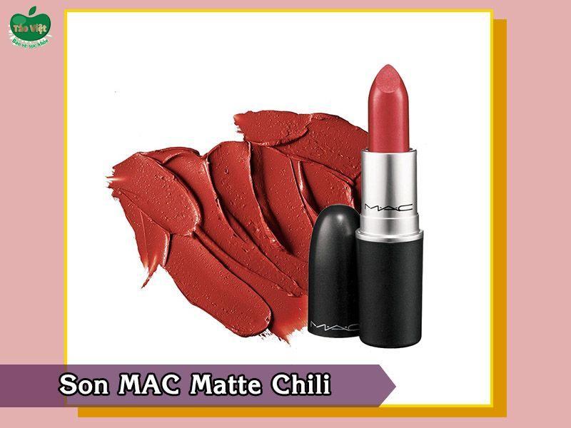 MAC Matte Chili