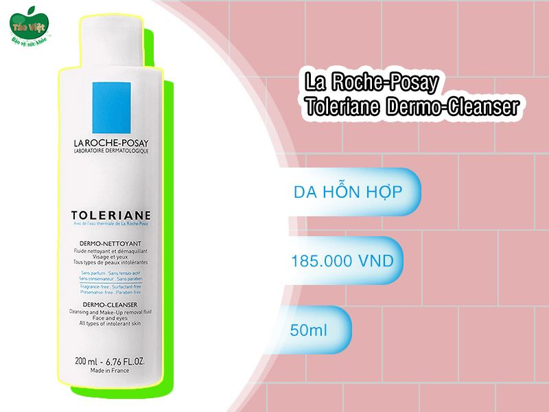 La Roche-Posay Toleriane Dermo-Cleanser dành cho da nhạy cảm
