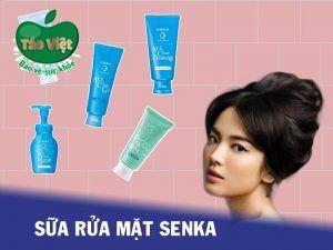 Sữa rửa mặt Senka