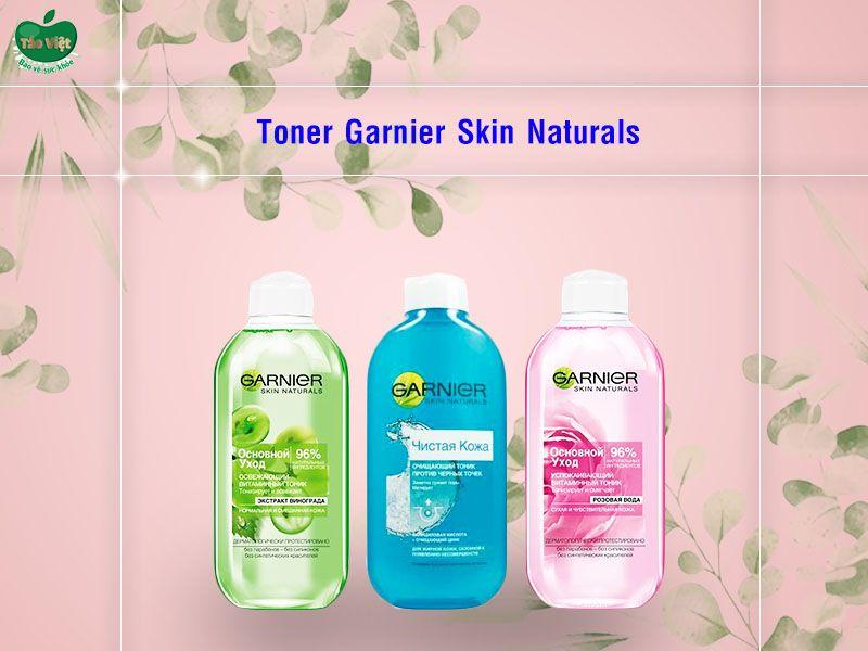Nước Hoa Hồng Garnier Skin Naturals