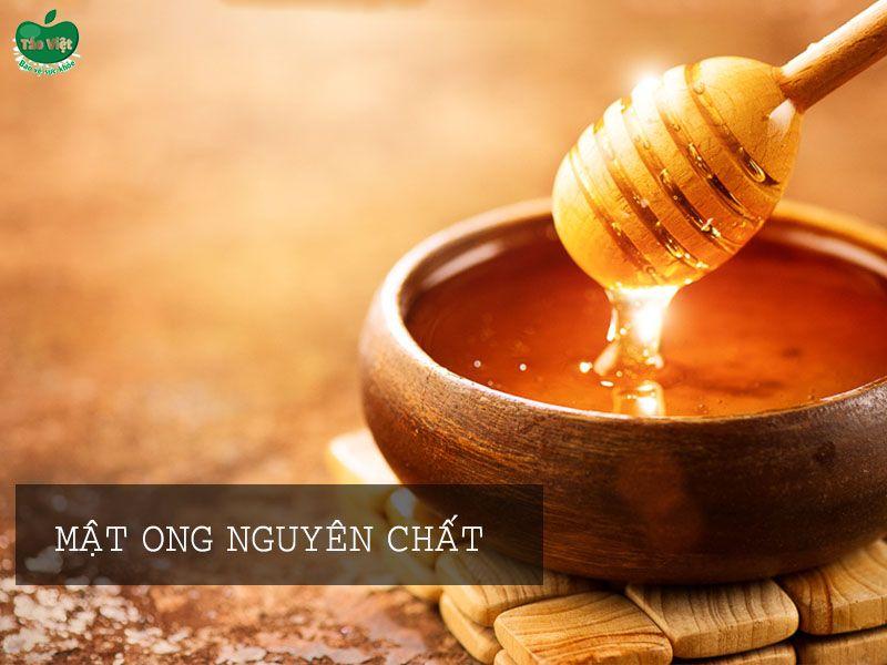 Trị sẹo thâm bằng mật ong nguyên chất