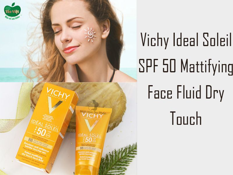 Vichy Ideal Soleil SPF50 Mattifying Face Fluid Dry Touch