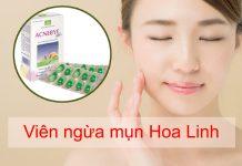 Viên uống ngừa mụn Hoa Linh