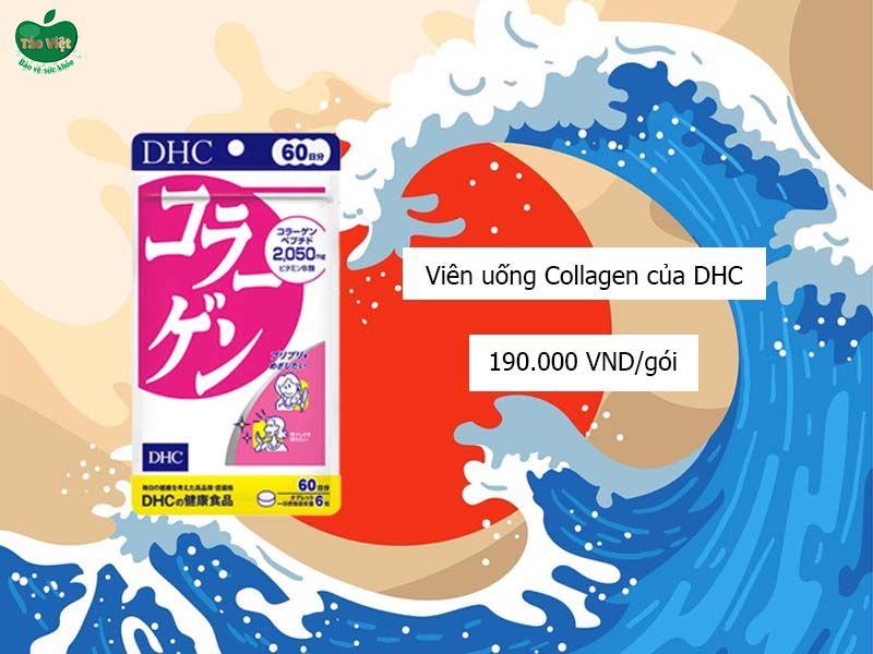 Giá của viên uống Collagen của DHC