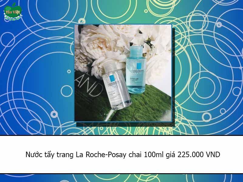 Nước tẩy trang La Roche-Posay giá bao nhiêu?