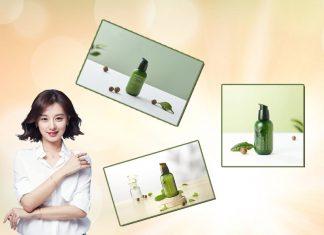 "Tinh chất Green Tea Seed Serum phiên bản ""Hello, I'm paper bottle"""