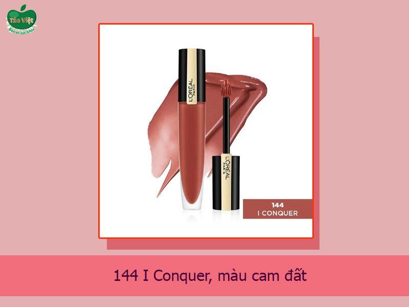 144 I Conquer: Màu Cam Đất