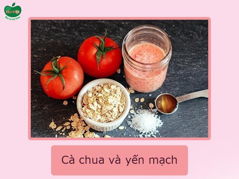 Cà chua và yến mạch