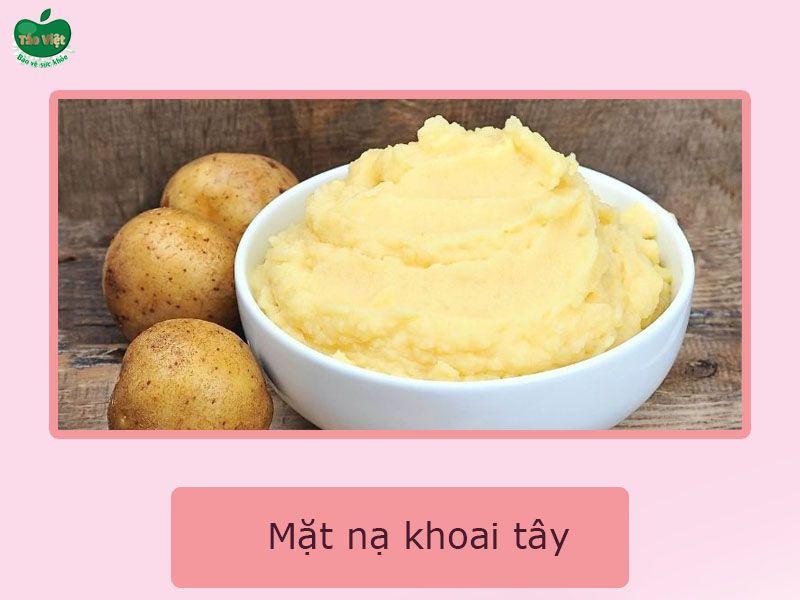Mặt nạn khoai tây tươi