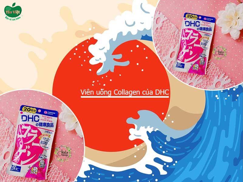 Phân biệt viên uống Collagen DHC hàng thật - giả