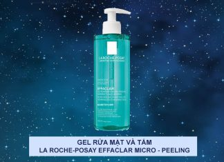 Sữa rửa mặt La Roche-Posay Effaclar Micro-peeling Purifying