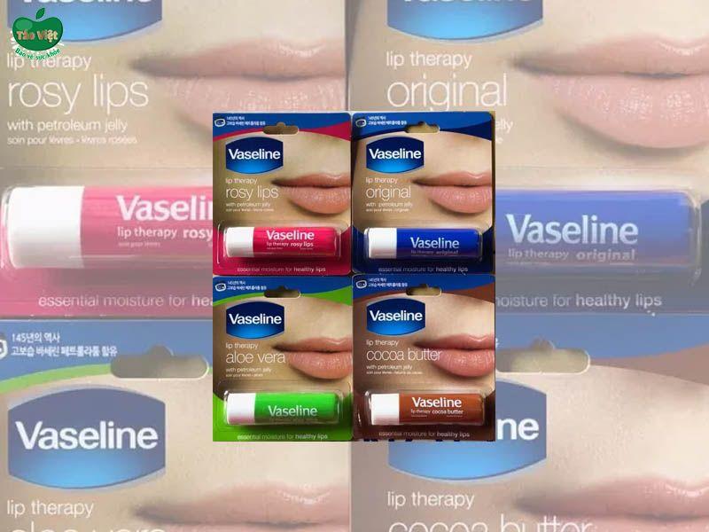 Thiết kế và mùi hương son dưỡng môi Vaseline Lip Therapy Lip Balm