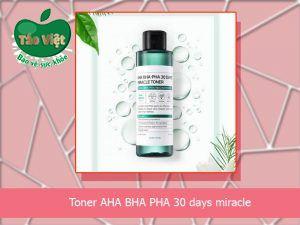 Sản phẩm Toner AHA BHA PHA 30 Days Miracle