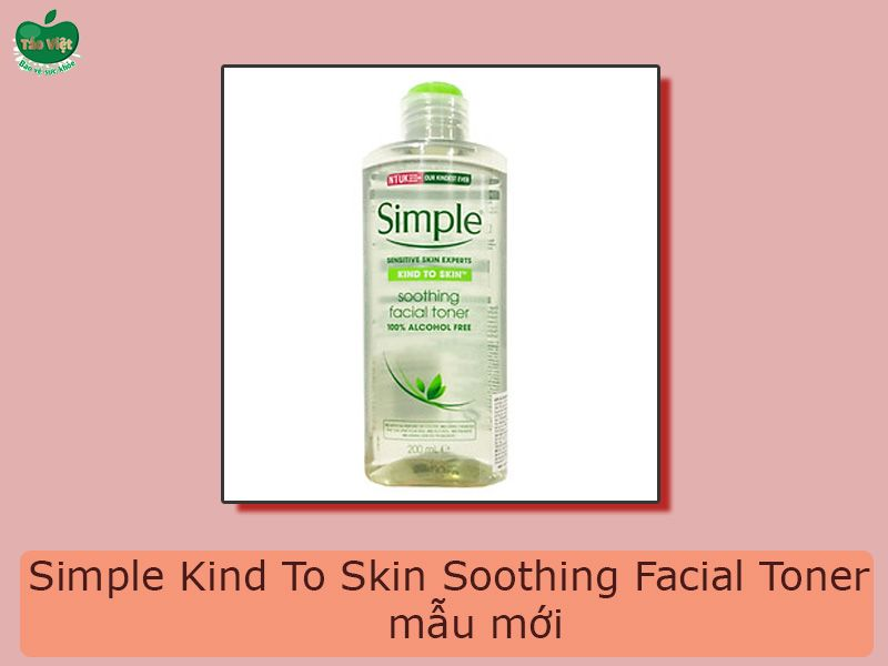 Simple Kind To Skin Soothing Facial Toner mẫu mới