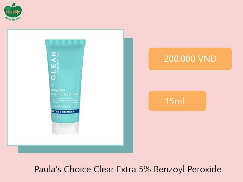 Paula's Choice Clear Extra 5% Benzoyl Peroxide