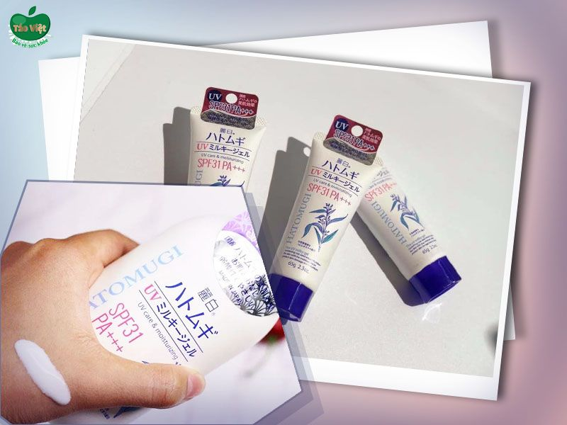 Đánh giá chi tiết sữa dưỡng thể chống nắng Hatomugi
