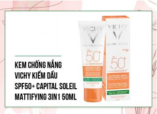 KEM CHỐNG NẮNG VICHY KIỀM DẦU SPF50+ CAPITAL SOLEIL
