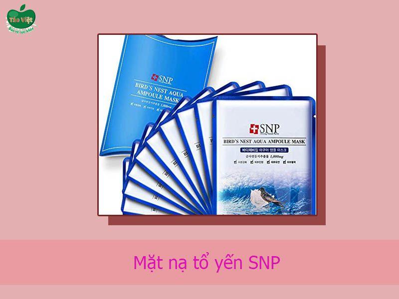 Mặt nạ tổ yến SNP của Hàn Quốc.