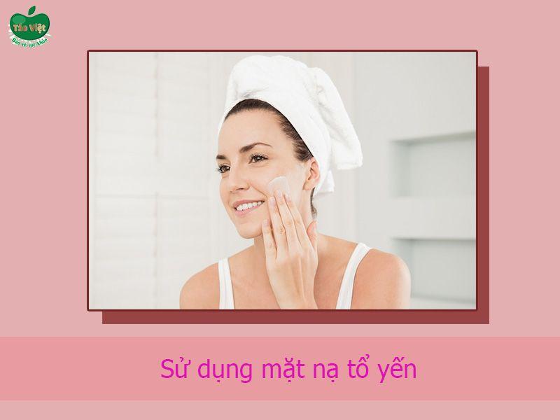 Hướng dẫn sử dụng mặt nạ ngủ yến tươi collagen