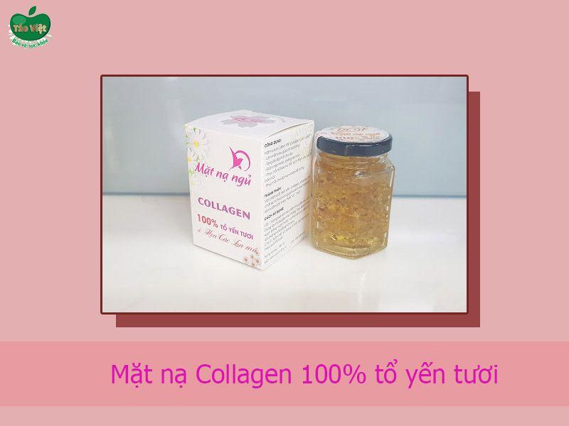 Mặt nạ Collagen 100% tổ yến tươi