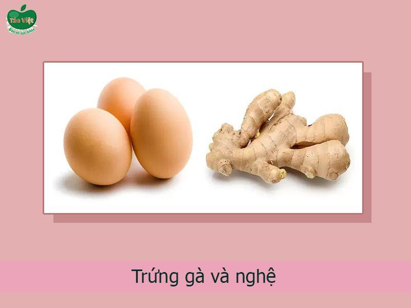 Cách chữa trị mụn với gừng và lòng trắng trứng gà