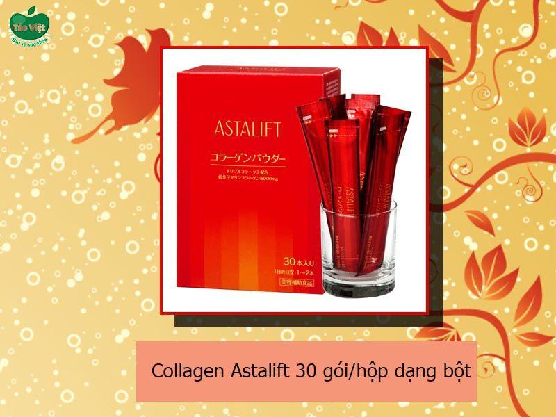 Collagen Astalift 30 gói/hộp dạng bột