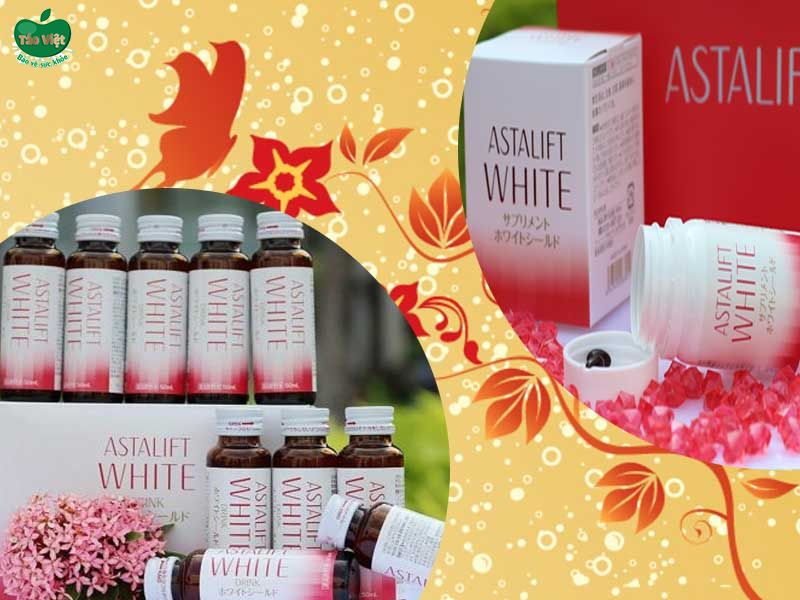 Nước uống làm sáng da Astalift White Drink Whiteshield