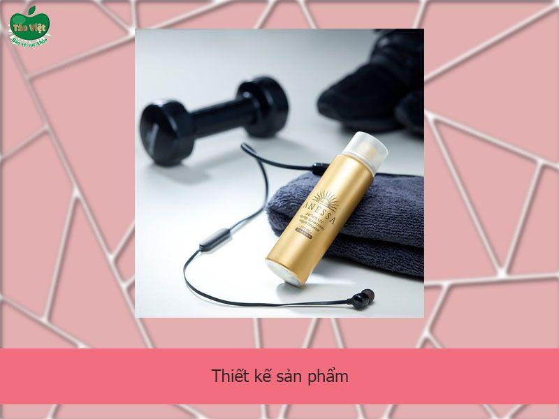 Thiết kế của xịt chống nắng Perfect UV Sunscreen Skincare Spray